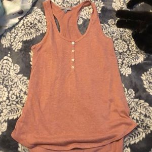 Pink Charlotte Russe tank top